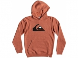 Quiksilver Big Logo Kids Barn Red Heather