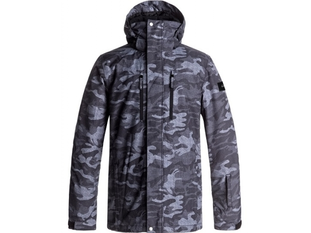 Quiksilver Mission Printed Black Grey Camokazi