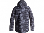 Quiksilver Mission Printed Black Grey Camokazi (#1)