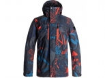 Quiksilver Mission Printed Mandarin Red