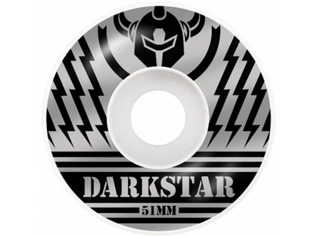 Roti skate Darkstar Blunt Price Knight Silver/Black 51mm