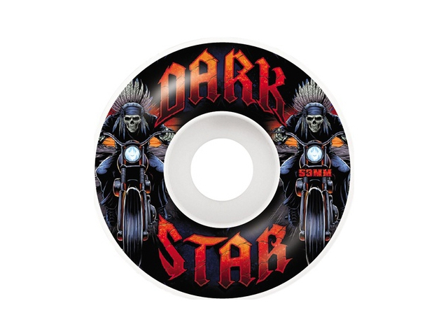 Darkstar Roadie White 53mm