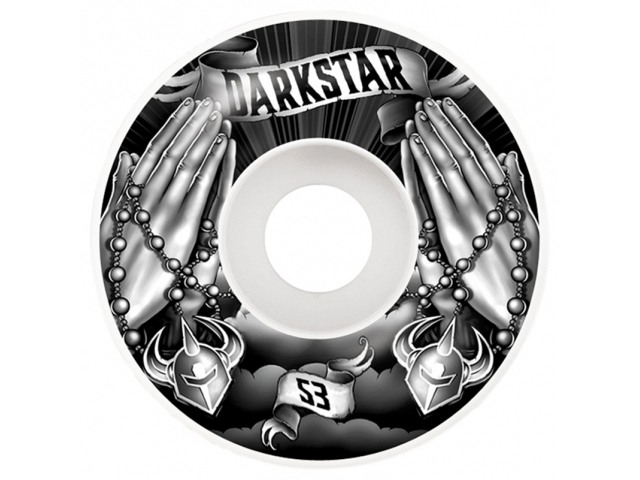 Roti skate Darkstar Salvation Black/White 53mm de la Darkstar