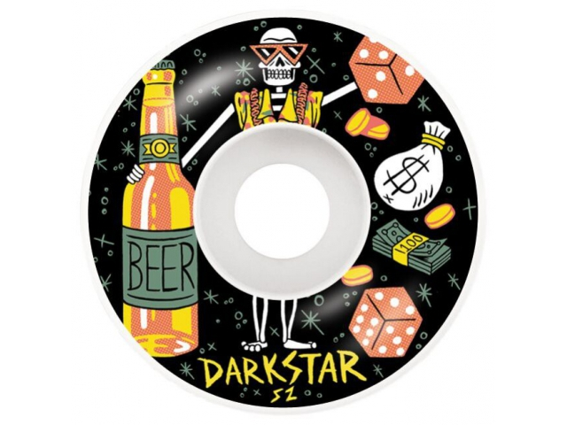 Roti skate Darkstar Vices Black 52mm