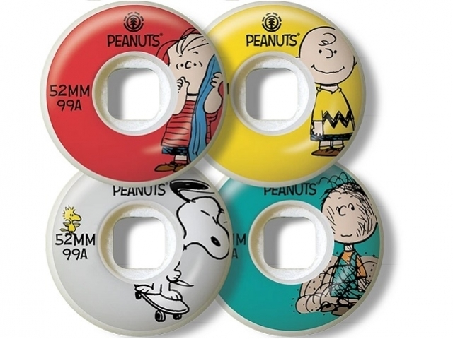 Element Peanuts Squad 52 mm Assorted (detaliu #0)