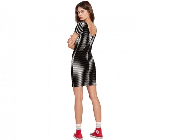 Volcom Dayze Dayz Dress Black/White (detaliu #1)
