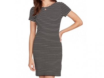 Volcom Dayze Dayz Dress Black/White (thumb #0)