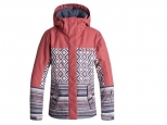 Roxy Jetty Block Snow Jacket Dusty Cedar Edit Song Geo (#0)