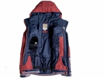 Roxy Jetty Block Snow Jacket Dusty Cedar Edit Song Geo (#1)