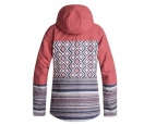 Roxy Jetty Block Snow Jacket Dusty Cedar Edit Song Geo (#2)