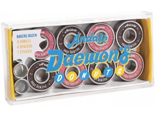 Rulmenti skate Andale Daewon Song Donut Box de la Andale