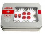 Andale Swiss Pro Rated Bearings Kit White/Red (thumb #0)