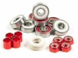 Andale Swiss Pro Rated Bearings Kit White/Red (thumb #2)