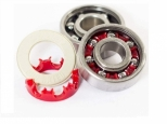 Andale Swiss Pro Rated Bearings Kit White/Red (thumb #3)