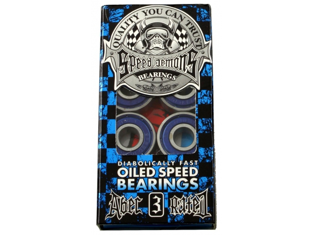 Rulmenti skate Speed Demons Oiled Speed ABEC3 de la Speed Demons