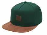 DC Brackers Snapback Hat Dark Green