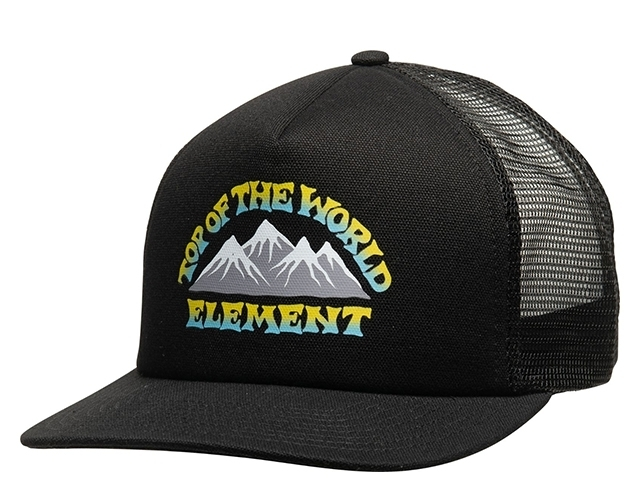 Element Rift Trucker Cap Flint Black (detaliu #0)