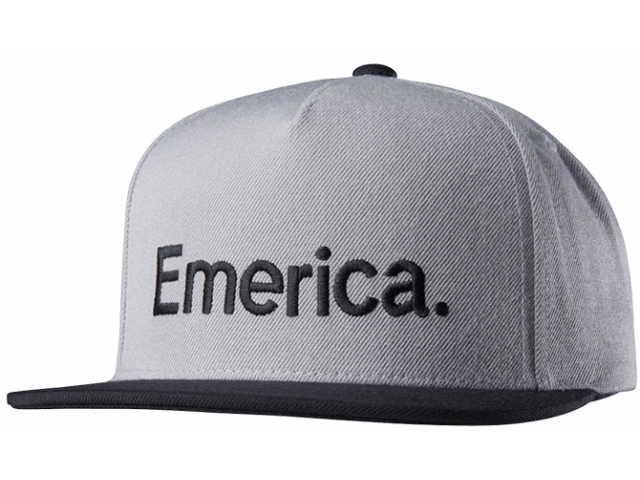 Emerica Pure Snapback Grey/Black (detaliu #0)