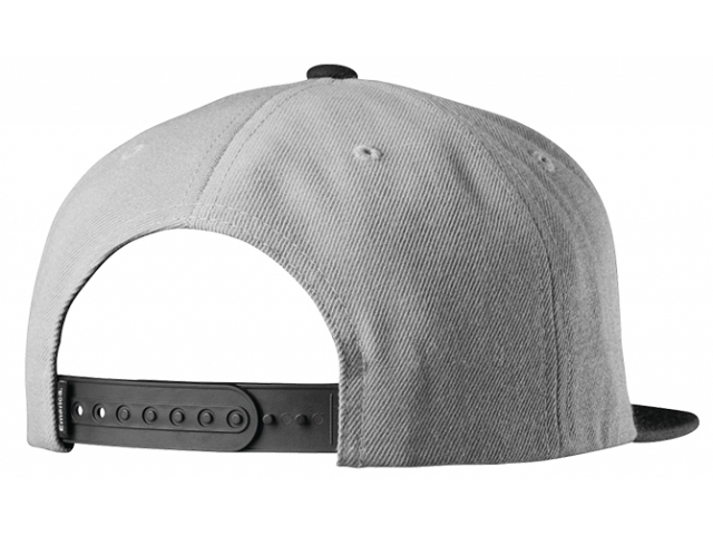Emerica Pure Snapback Grey/Black (detaliu #1)