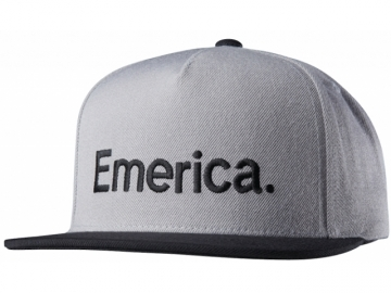 Emerica Pure Snapback Grey/Black (thumb #0)