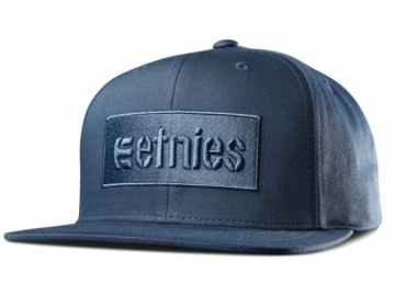 Etnies Corp Box Snapback Dark Navy (thumb #0)