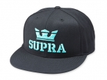 Supra Above II Snapback Black/Electric