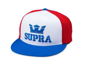Supra Above II Snapback Red/White/Blue (thumb #0)
