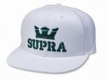 Supra Above II Snapback White/Evergreen