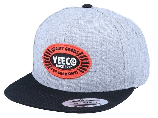 Volcom Cresticle Snapback Heather Grey (detaliu #0)