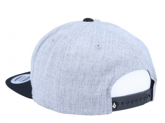 Volcom Cresticle Snapback Heather Grey (detaliu #1)