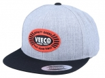 Volcom Cresticle Snapback Heather Grey (thumb #0)