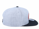 Volcom Cresticle Snapback Heather Grey (thumb #2)