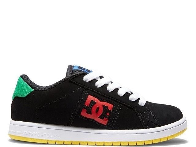 DC Striker Youth Black/Multi (detaliu #0)