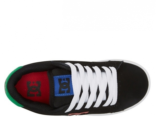 DC Striker Youth Black/Multi (detaliu #2)