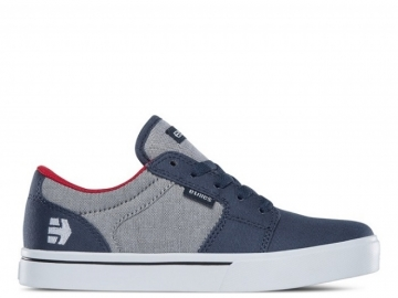 Etnies Barge LS Kids Grey/White/Red (thumb #0)