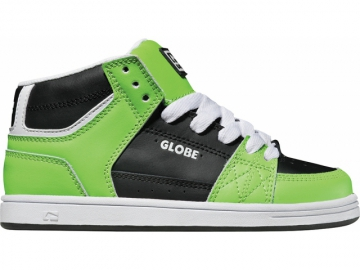 Globe Mace HI-Kids Black/Poison Green (thumb #0)