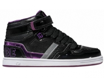 Globe Superfly-Kids Black/Dark Purple (thumb #0)