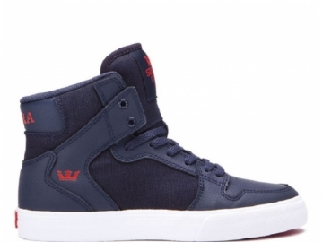 Supra Vaider Kids Navy/Risk Red-White (thumb #0)