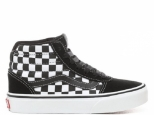 Vans Ward HI YT Checkered Black/White