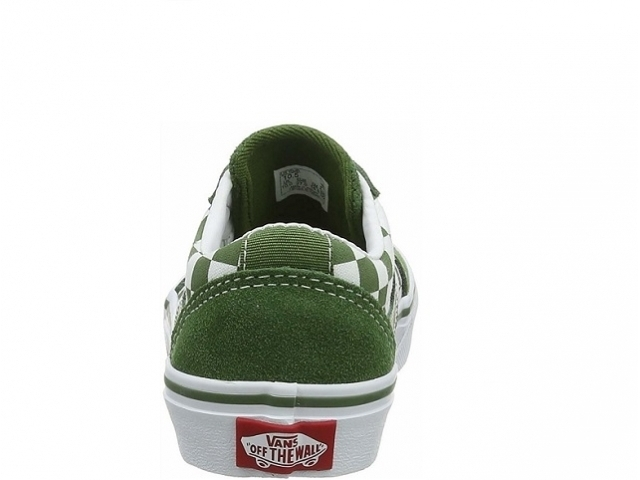 Vans Ward YT Chekered Garden Green