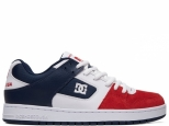 DC Manteca White/Navy/Red (#0)
