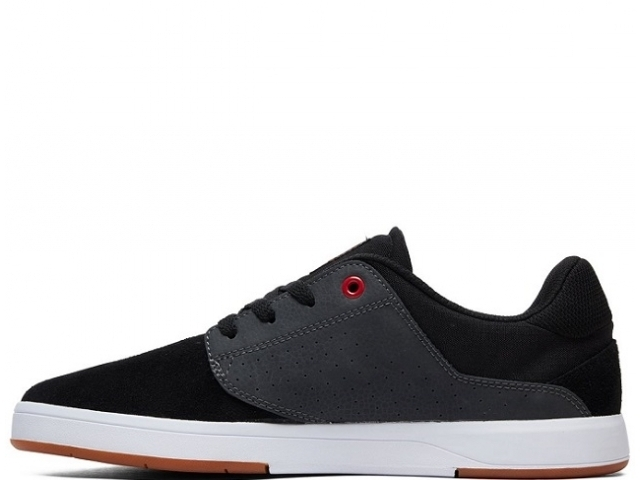 DC Plaza TC S Black/Dk Grey/Athletic Red