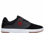 DC Plaza TC S Black/Dk Grey/Athletic Red (#0)