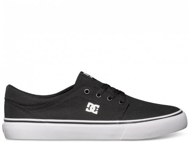 Shoes Dc Trase Tx Black/white