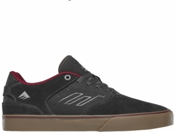 Emerica The Reynolds Low Vulc Dark Grey/Grey/Red (thumb #0)