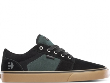 Etnies Barge LS Black/Green/Gum (thumb #0)