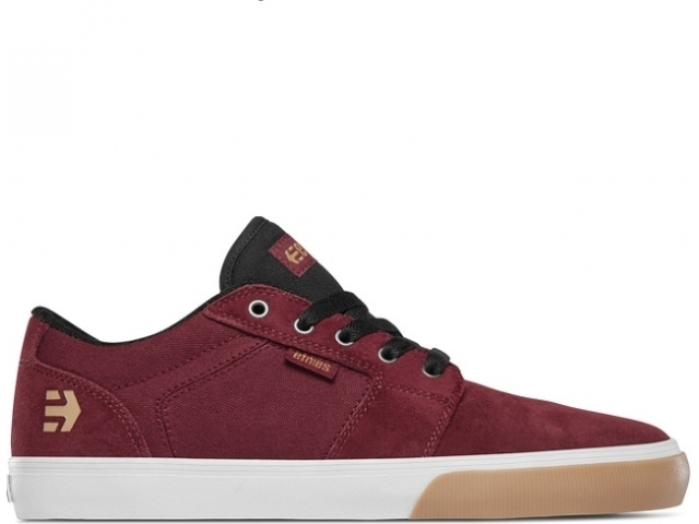 Etnies Barge LS Burgundy/Tan/White