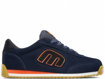 Etnies Lo-Cut II LS Navy/Black/Orange (thumb #0)