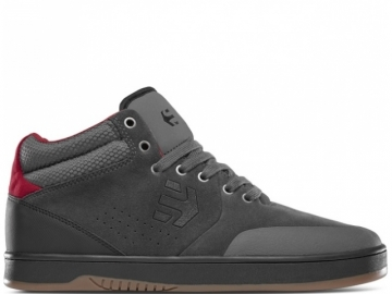 Etnies Marana Mid Crank Dark Grey/Black/Red (thumb #0)