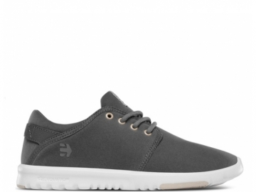 Etnies Scout Ws Grey/White/Gold (thumb #0)